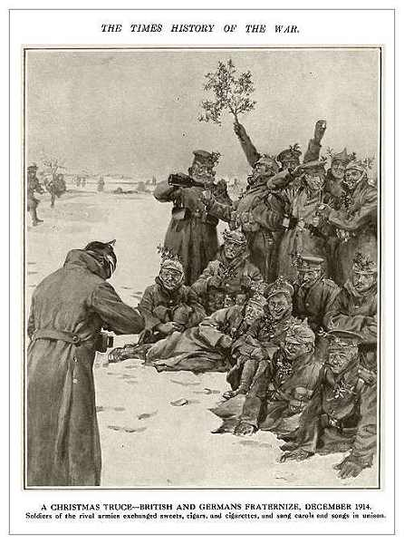 Christmas Truce Of 1914.The Christmas Truce Of 1914 Remembrance Trails Of The Great